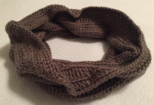 Other Brand New Brown Cowl Neck Infinity Scarf Image 1