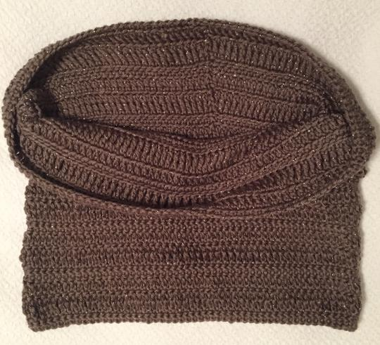 Other Brand New Brown Cowl Neck Infinity Scarf Image 4