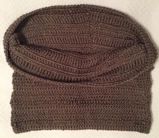 Other Brand New Brown Cowl Neck Infinity Scarf Image 9