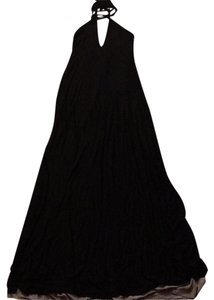 Black/Grey Maxi Dress by Elan
