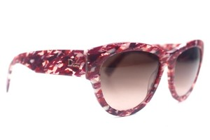 Dior Dior Flanelle 1 Tweed Pink Gradient Sunglasses New 4P6V6