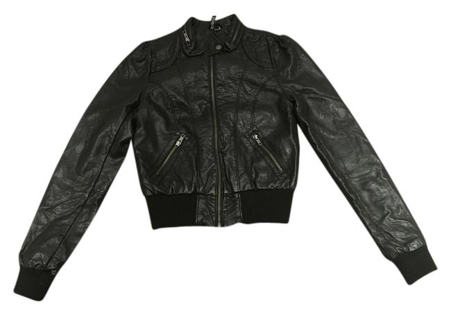 Preload https://item3.tradesy.com/images/h-and-m-black-leather-jacket-size-8-m-2022792-0-4.jpg?width=400&height=650