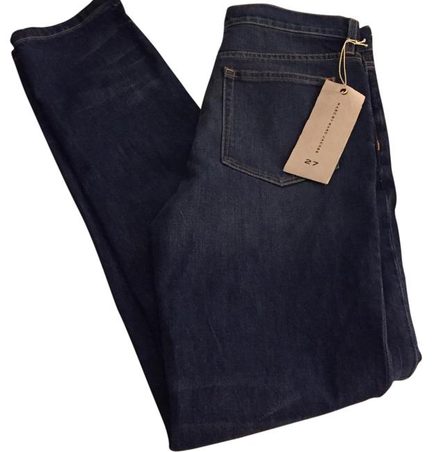 Marc by Marc Jacobs Blue Dark Rinse Drainpipe Skinny Jeans Size 27 (4, S) Marc by Marc Jacobs Blue Dark Rinse Drainpipe Skinny Jeans Size 27 (4, S) Image 1