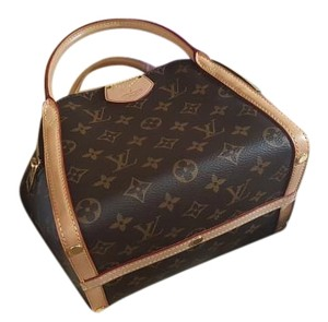 Louis Vuitton Discontinued Collectible Satchel in Brown