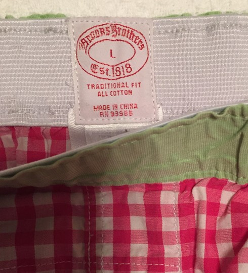Brooks Brothers Brand New Pink Brooks Brothers Boxers - (L) Image 7