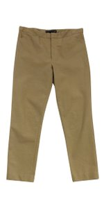 Ralph Lauren Tan Heathered Skinny Trousers Trouser Pants