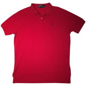 Ralph Lauren Polo Mens Polo Shirt Polo Polo Shirt Mens Dress Shirt Button Down Shirt Red