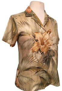 Tommy Bahama Top Multi tan