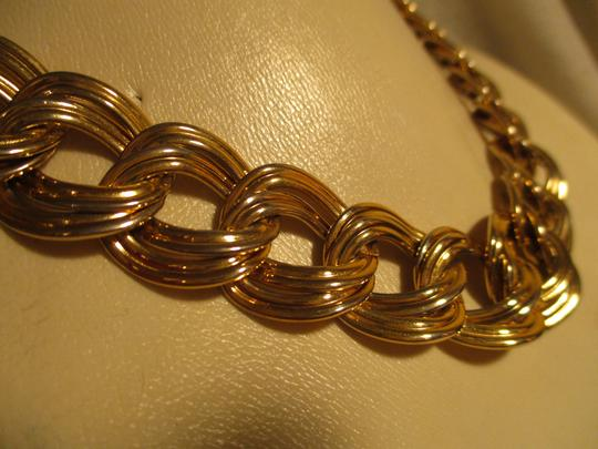Anne Klein chunky double link chain toggle Image 1