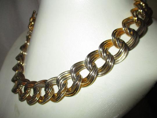 Anne Klein chunky double link chain toggle Image 11