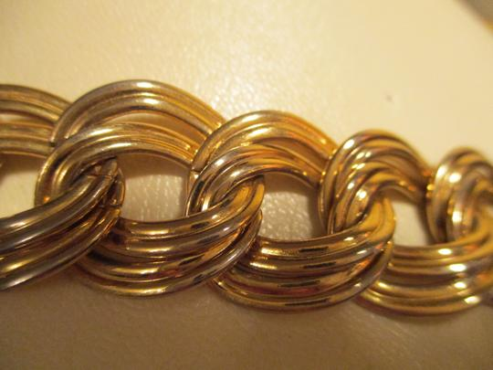 Anne Klein chunky double link chain toggle Image 4