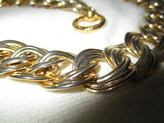 Anne Klein chunky double link chain toggle Image 6