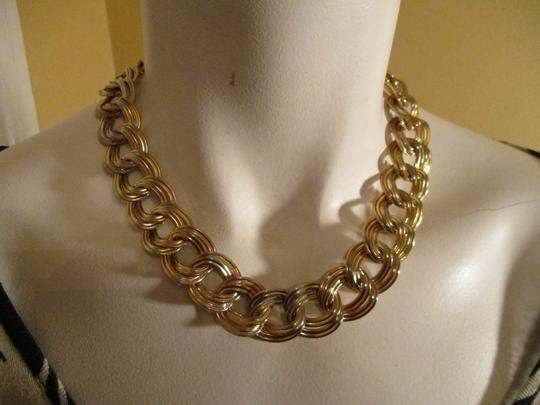 Anne Klein chunky double link chain toggle Image 9