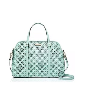 Kate Spade Rachelle Satchel in GRACE BLUE