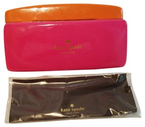 Kate Spade Kate Spade Clamshell Sunglasses Case and Lens Cloth ONLY