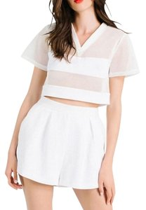 Kendall + Kylie T Shirt white