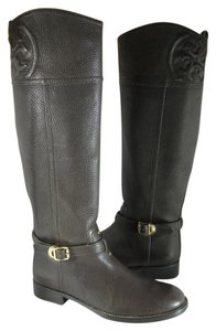 Tory Burch brown/ coconut Boots