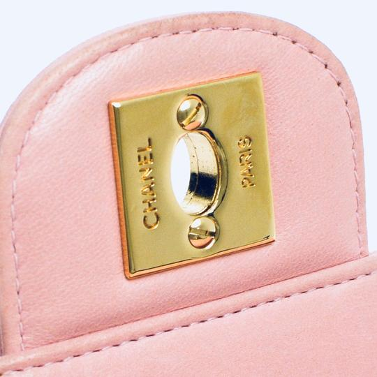 Chanel Pink Clutch Image 8