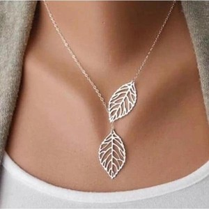 Other Silver Leaf Necklace