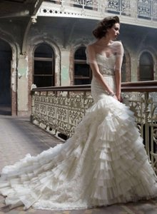 Lazaro #3200 Wedding Dress