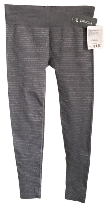 Item - Gray Silver Stripe Tight Activewear Bottoms Size 6 (S, 28)