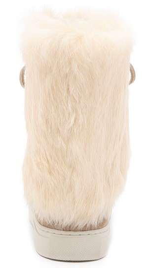 Tory Burch Angelica Fur NATURAL Boots Image 2