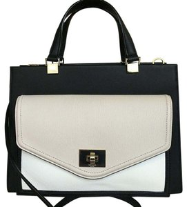 Kate Spade Satchel in Black/Ivory
