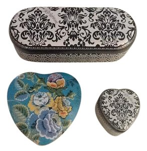 Brighton Jewelry boxes and eyeglass case