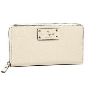 Kate Spade Neda Wellesley Zip Arround Wallet Porcelain