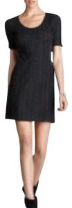 Theory short dress Dark Grey/Charcoal on Tradesy