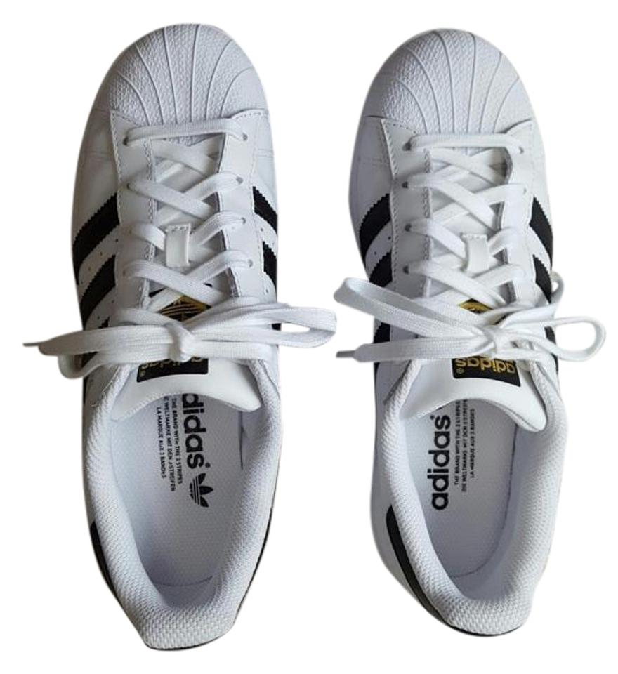 adidas White and Superstar Black Superstar and Sneakers Sneakers 438d8e