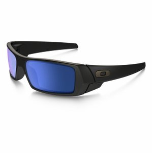 Oakley Gascan Matte Black / Polarized Ice Iridium 26-244