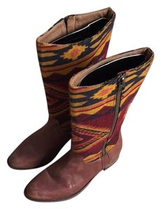 Steve Madden Multi and brown Boots