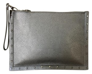 White House | Black Market Studs Silver Clutch