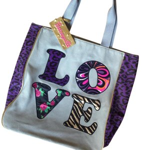 Betsey Johnson Tote in Gray