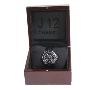 Chanel Chanel J12 Blakc Ceramic Diamond Watch