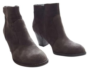 Paul Green Suede Bootie Taupe Green Boots