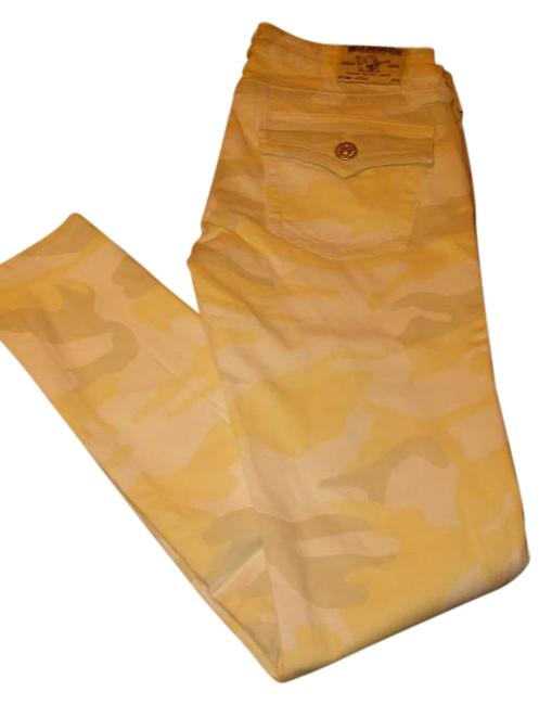 Item - Winter White Grey and Light Yellow W Camo W/Flap Jeggings Size 29 (6, M)