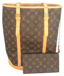 Louis Vuitton Tote in Brown Canvas