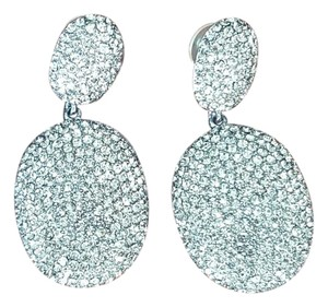 Shay Pave Swarovski Crystal Oval Earrings