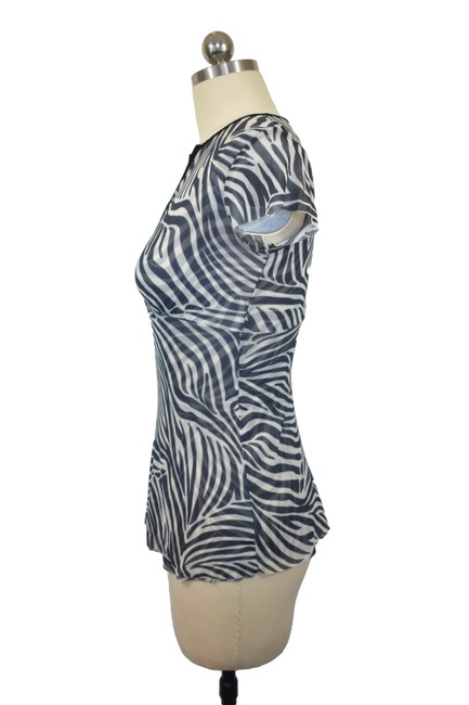 Sweet Pea by Stacy Frati Animal Print Zebra Print Top Black Image 2