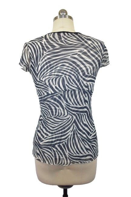 Sweet Pea by Stacy Frati Animal Print Zebra Print Top Black Image 3