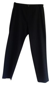 Eileen Fisher Straight Pants dark charcoal gray