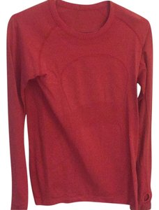 Lululemon Lululemon,Red,Thermal,Shirt