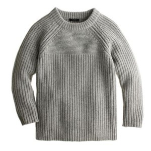 J.Crew Chunky Knit Oversized Sweater