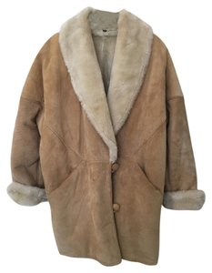 Express Shearling Sherpa Fur Coat