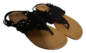 American Eagle Outfitters Black Sandals