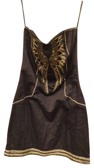 Preload https://item4.tradesy.com/images/french-connection-black-leather-wings-mini-night-out-dress-size-2-xs-202298-0-0.jpg?width=400&height=650
