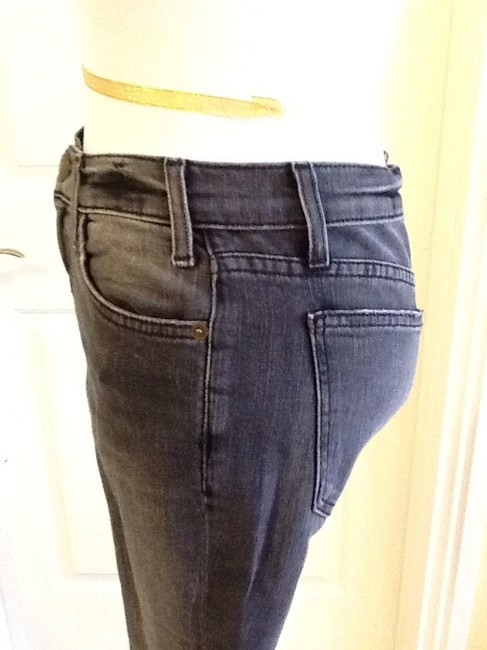 Current/Elliott Cotton Machine Washable Made In Usa Skinny Jeans-Light Wash Image 2