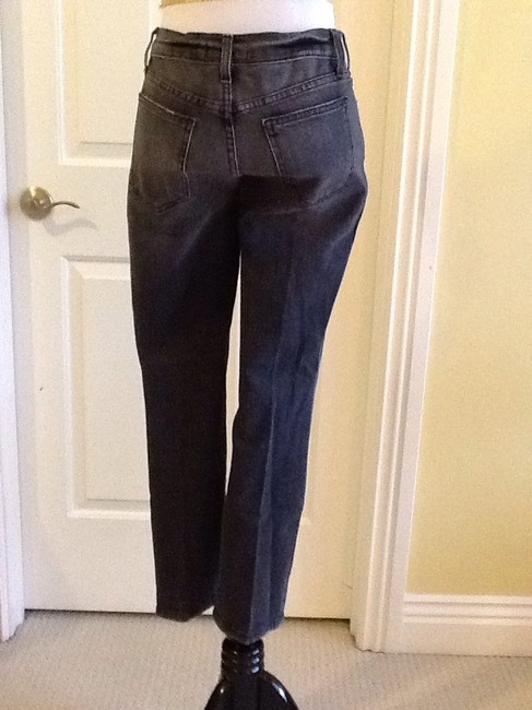 Current/Elliott Cotton Machine Washable Made In Usa Skinny Jeans-Light Wash Image 3